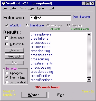 Click here for WordFind v3.3